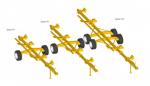 Тележка для транспортировки жаток Helianthus 9400