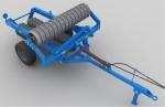 Каток кольчато-зубчатый ККЗ-6Н-0,1 (460 мм)