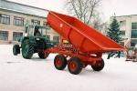 Полуприцеп герметичный тракторный ППГ-8
